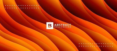geometrische oranje vorm overlappende achtergrond