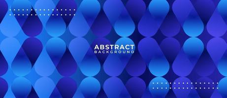 blauwe gradiënt capsule vorm abstracte achtergrond vector