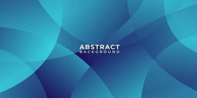 overlappende cirkels blauwe abstracte achtergrond