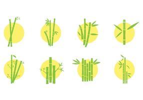 Gratis Bamboo Icons Vector