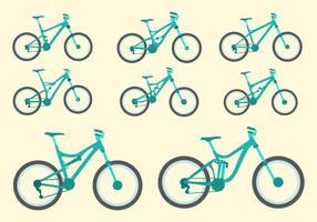 Gratis Bike Vector Collection