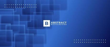 blauwe overlappende vierkante vorm abstracte achtergrond