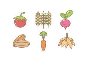 Gratis Unieke Crop Icons Vectors