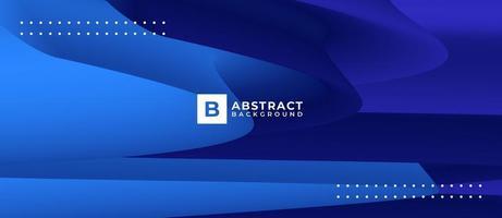 abstracte donkerblauwe vorm golf achtergrond