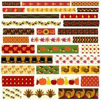 thanksgiving washi tape