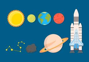 Gratis Space Vector Collection