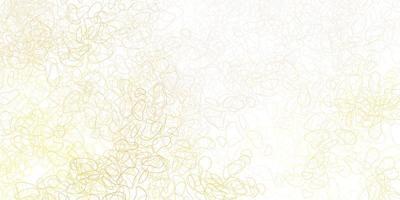 lichtoranje sjabloon met abstracte vormen.