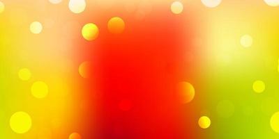 veelkleurige sjabloon met abstracte vormen.