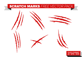 Scratch Marks Gratis Vector Pack
