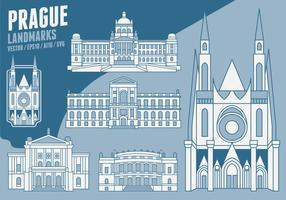 Praag Landmarks vector