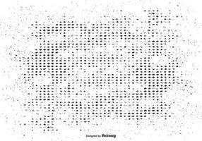 Gestippelde Achtergrond van de Korrel Textuur vector