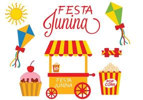 Festa Junina Icon Vector
