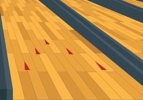Gratis Bowling Lane Vector Achtergrond