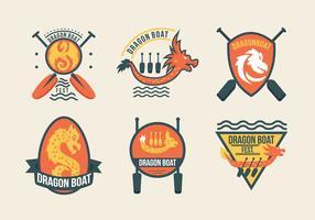 Dragon Boat Festival Event Labels