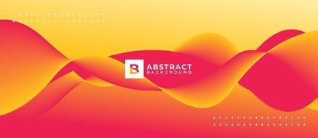gradiëntvorm abstracte vloeibare website als achtergrond vector