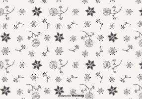 Blowball Doodle Vector Naadloos Patroon