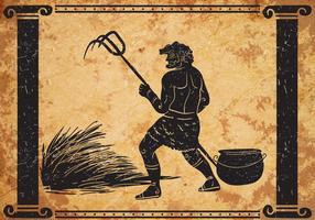 Hercules Vijfde Labor Vector