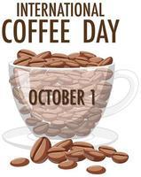 internationale koffiedag banner