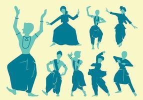 Punjabi Dancers Cijfers vector