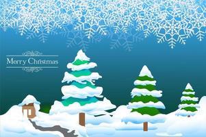 kerst achtergrond ontwerp vector