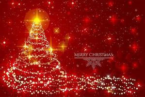 vrolijk kerstfeest achtergrondontwerp vector