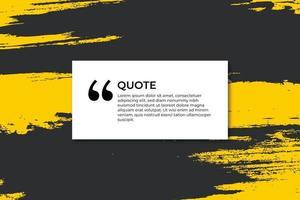 kleurrijke banner voor citaat met slagen
