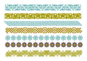 Gratis decoratieve Islamitische Ornamenten Vector
