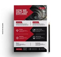 multifunctionele zakelijke flyer
