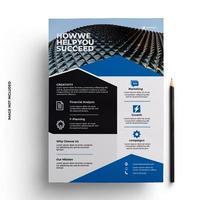 moderne zakelijke flyer zakelijke sjabloon