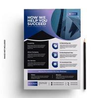 flyer bedrijfsbrochure in a4-formaat