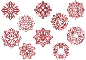 Gratis Circular Ornamenten vectoren