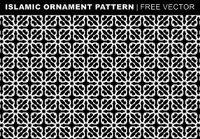 Islamitische ornament patroon Gratis Vector