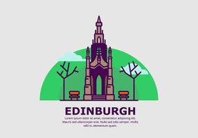 Edinburgh Achtergrond vector
