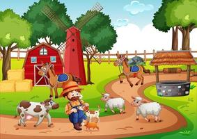 oude macdonald in kinderliedjes van een boerderij