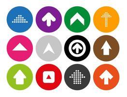 Arrow Icons Vector Set