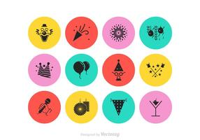 Gratis Party Vector Icon Set