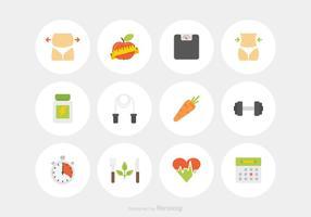 Gratis Afslanken Vector Icons