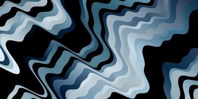 blauwe achtergrond met lijnen. vector