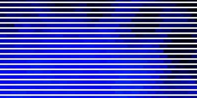 donkerblauw sjabloon met lijnen.