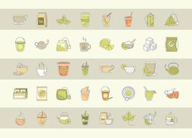 thee tijd pictogramserie