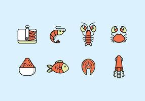 Seafood Icon Set