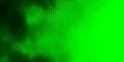 groen patroon met bollen.