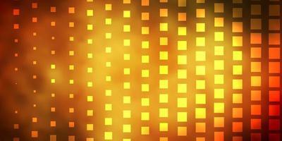gele lay-out met vierkanten.