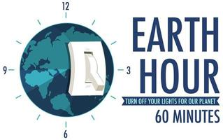Earth Hour-campagneposter