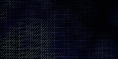donkerblauwe lay-out met lijnen. vector