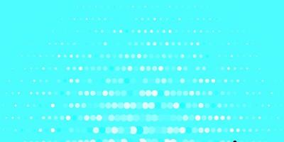 blauw patroon met bollen.