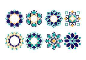 Gratis Islamitische ornament vectoren