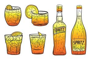 Gratis Spritz Icons Vector