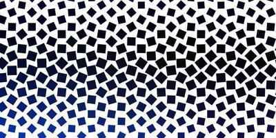 donkerblauwe achtergrond met vierkanten.