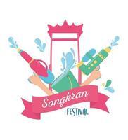 songkran festivalviering